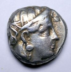 Greek Antiquity - Attica, Athens, AR Tetradrachm, c 353-294BC