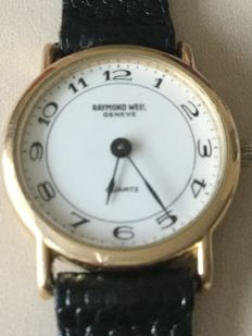 Raymond Weil Geneve  18K Gold electroplated Quartz, 2000 /2010 Ladies Wristwatch