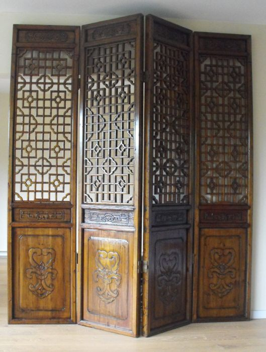 Antique room divider China Early 20th century Catawiki