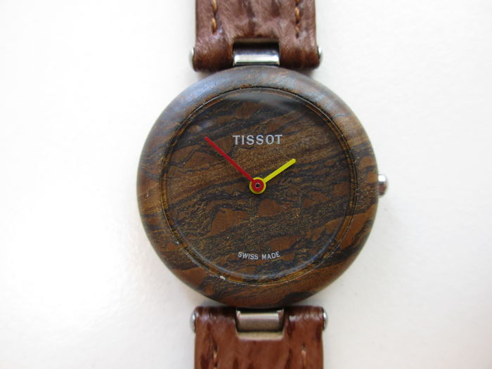 "Tissot RockWatch ""brown"" ref. R150 - Swiss men's wristwatch – 1980s"