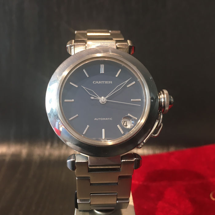 Cartier Men's Pasha C Stainless Steel Automatic Watch, ref. 1031