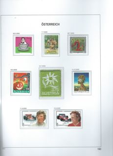 Austria 1995/2007 – Collection in Davo album