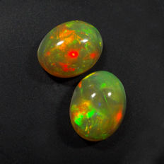 Opal Pair - 2.53 Ct total