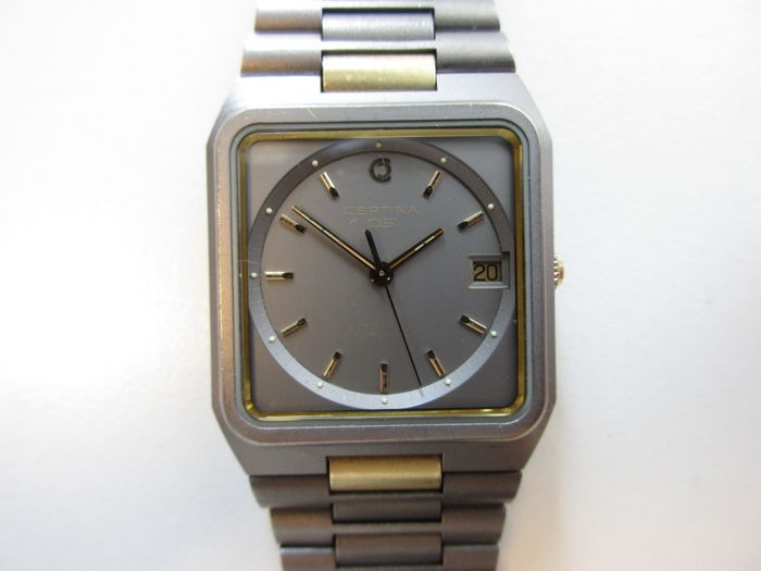 Certina 'DS' ref. SA113 – Titanium men's wristwatch - 1980s