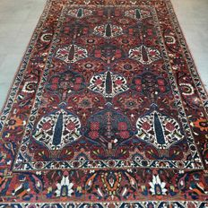 Exceptional, antique Bakhtiari Persian carpet - 273 x 168 - with certificate