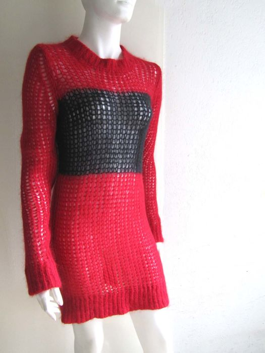 Isabel Marant - Oversized, knitted mohair dress