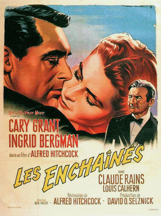 Anonymous - Les Enchainés (Notorious, Hitchcock) - 1958