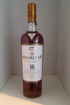 Macallan 18 years old 1997 sherry casks