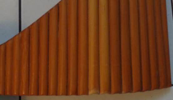 PANFLUTE: 24 pipes. Bamboo.