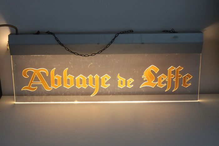 Original Abbaye de Leffe light box