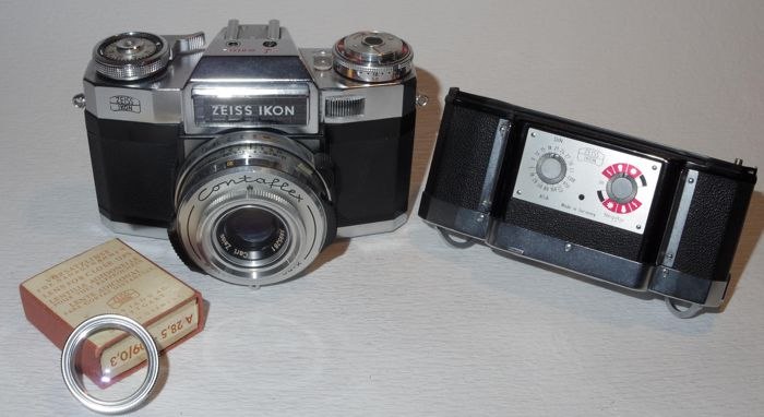 Zeiss Ikon Contaflex Super B - 35mm - 1963