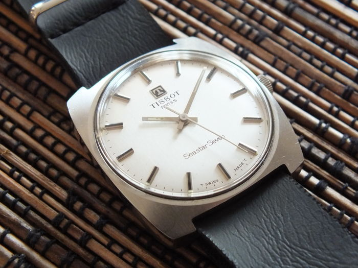 TISSOT Seastar Seven  - Men's Windup Watch - Vintage 1970s