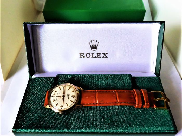 Rolex - triple signed Gents swiss wrist watch. {date madebirmingham B-1957-58 {ref no 151}