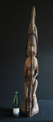 Large, Impressive Cult House Roof Finial - Sepik - Papua New Guinea