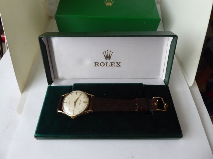 Rolex - triple signed Gents swiss wrist watch. case made in birmingham 1960-61 {ref no 132}