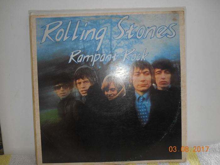 Rolling stones  ''lot of 3 LP Albums
