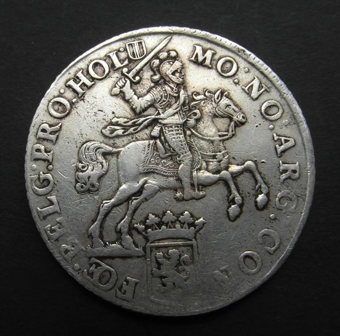 Holland – Silver rider or Dukaton 1758 – silver.