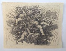 12 small format engravings - various authors and subjects - 18th and 19th centuries.