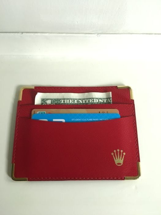 Rolex Card holder / Wallet