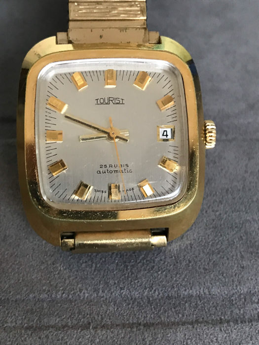 "Watch brand ""Tourist"", automatic, 1960s, good condition"