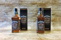 2 bottles - Jack Daniel's Red Dog Saloon 125th anniversary - Limited Edition in original box