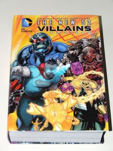 DC Comics Presents The New 52 Villains Omnibus With 3D Motion Cover - Oversized HC - 1st edition - (2013)
