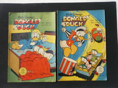 Donald Duck Weekblad - Year 1956 (complete) + 1957 (16 separate issues) - 68 x sc - (1956/1957)