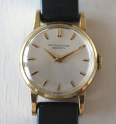 Vinate IWC women's wristwatch -- 1960s