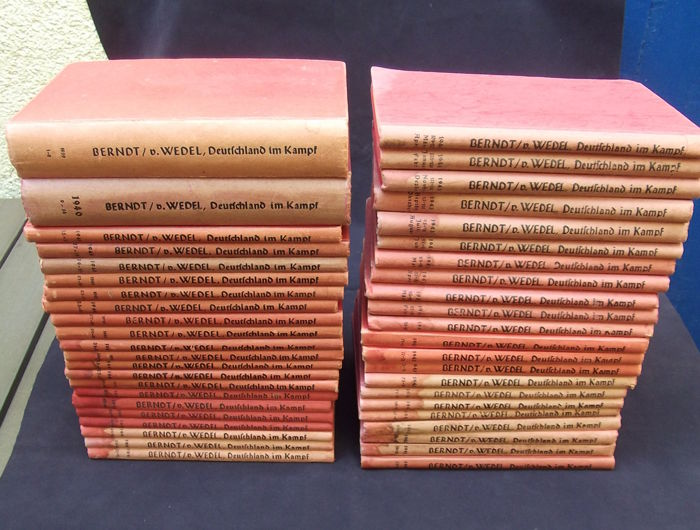"44 volumes ""Deutschland im Kampf"" from Sep. 1939 - April 1944"