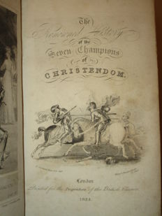 Richard Johnson - The Renowned History of the Seven Champions of Christendom - 1824