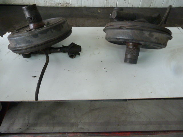 MG A 1500 Set complete drum brakes