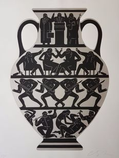 Cleon Peterson - Trump (White Platinum)