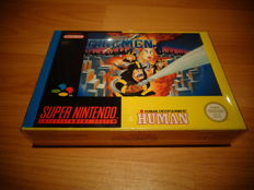 "Snes ""The Firemen"" Fully Complete and 100% Original Very rare"