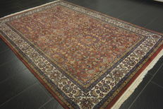 Magnificent hand-knotted Indo Sarough Louvre carpet, 200 x 300 cm, made in India, end of the 20th century