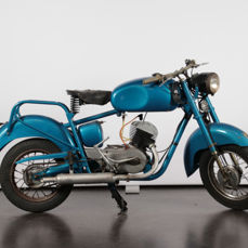 ISO motorcycle - 125 cc -1956