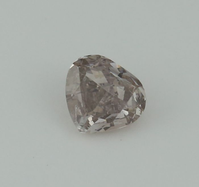 0.52 ct. Pear Modified Brilliant Natural Diamond -  Very Light Brown - SI 2
