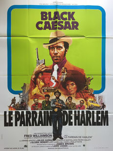 Anonymous - Black Caesar Le Parrain de Harlem (Fred Williamson), Blaxploitation - circa 1973