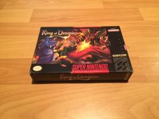 "SNES ""King Of Dragons"" Fully Complete and 100% Original, in Superb Condition"