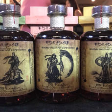 3 bottles - Edradour Warrior Patch 2004/2005/2006 Limited Edition in Wooden Box 3x500ml Combo Set