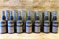 7 bottles - Hand Crafted Whisky styled on long closed distilleries - The Lost Distilleries