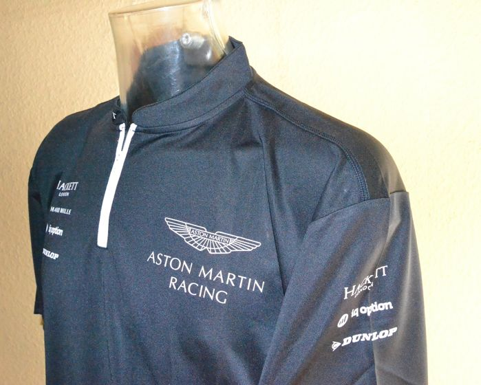 Aston Martin Racing 2016 WEC Team/Drivers Raceday Shirt Hackett