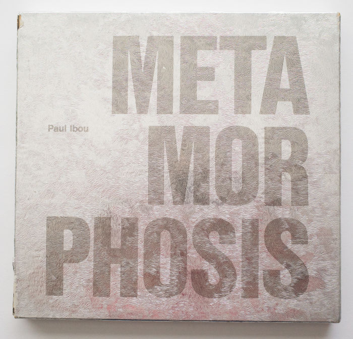 Paul Ibou - Metamorphosis (Illegible colour variation book)