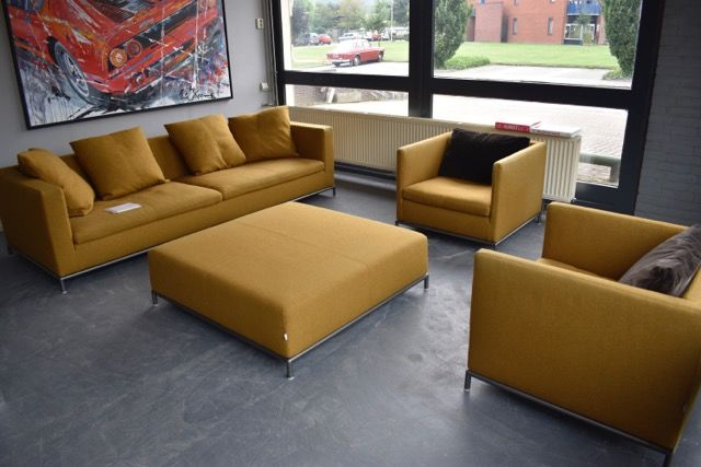 Antonio Citterio For B B Italia George Sofa Lounge Section And