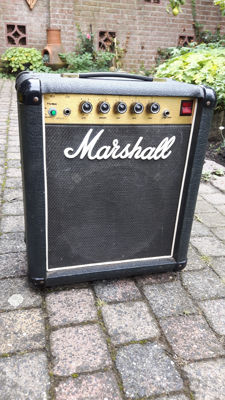 Hand-built guitar amplifier in Marshall housing