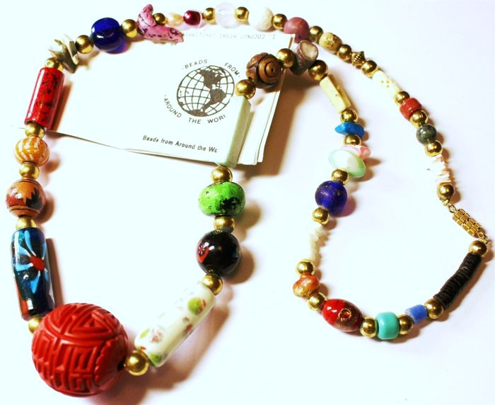 Vintage 1970s Vintage Rare Beads From Around The World Catawiki