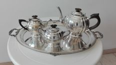 Tea set in Royal Sheffield Family