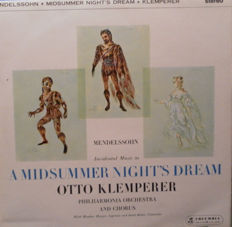 Otto Klemperer - Philharmonia Chorus,  Philharmonia Orchestra - A Midsummer Night's Dream - Mega Rare LP - Never Been Played.