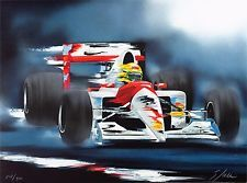 Victor Spahn - tribute to Senna - limited edition