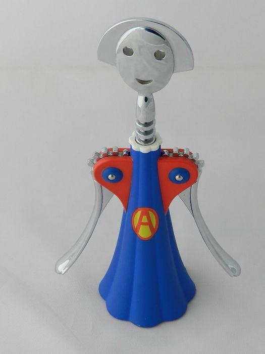 "A. Mendini for Alessi -  Anna G ""SUPER"" Corkscrew. Rare numbered Limited Edition."