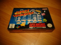"SNES ""Space Invaders"" Fully Complete and the very rare PAL Version, Only released in Australia and Scandanavia"
